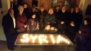 Vigil to remember the fifth anniversary of the start of the war
