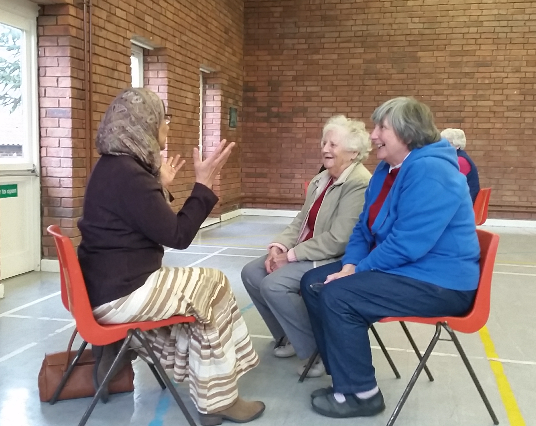 Weaving Trust with Middle Eastern Cultural Group