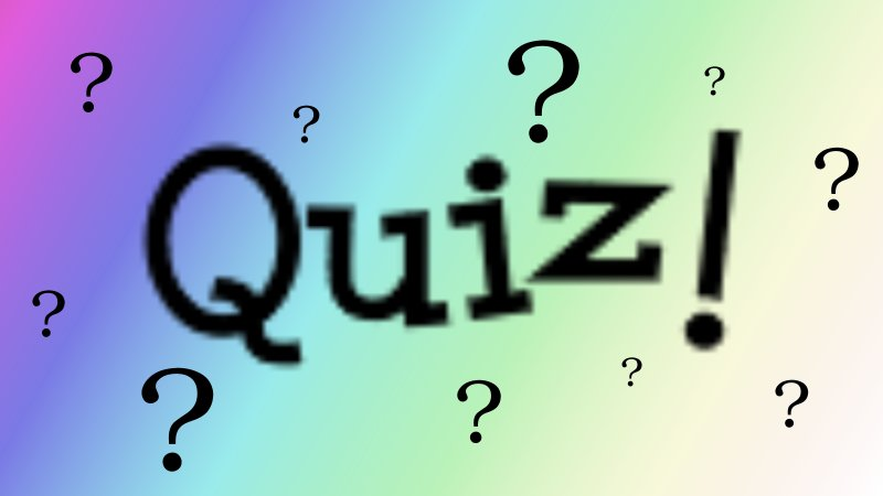 ANNUAL DEANERY QUIZ, 8 JUNE 2019