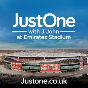 """""""Just One"""" with J John - Saturday 8 July 2017"""