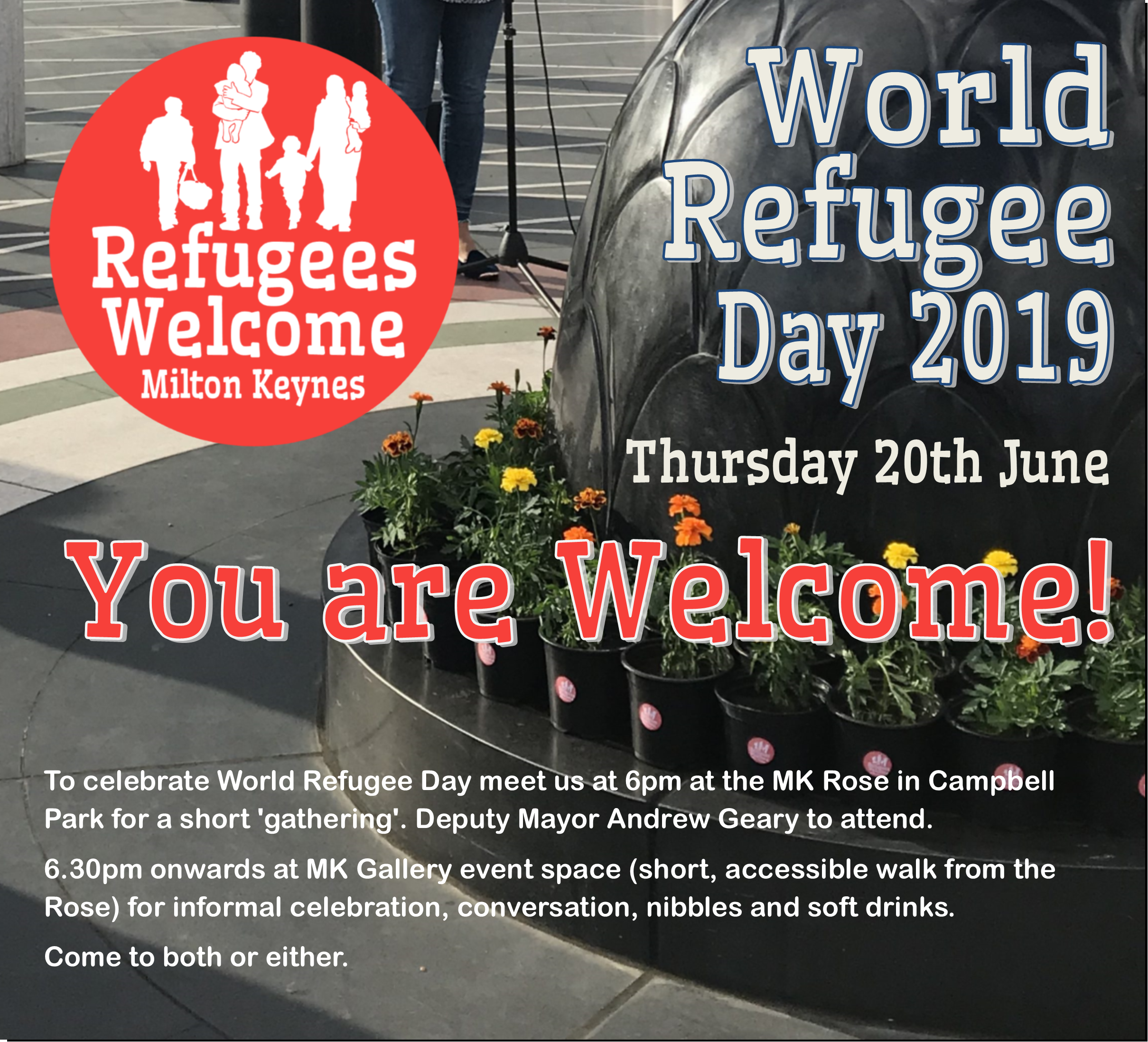 World Refugee Day: You are Welcome!