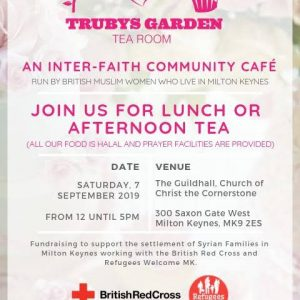 Truby's Garden Tea Room: 7 September, 2019 at the Guildhall, Christ the Cornerstone